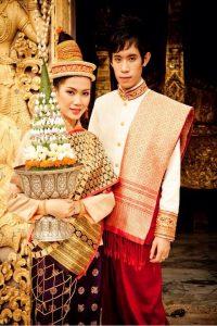 Costume traditionnel du Laos – Image de la culture laotienne