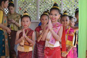 costume traditionnel du Laos